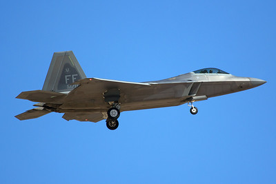 United States Air Force Lockheed Martin F-22A 08-4170 7-20-16