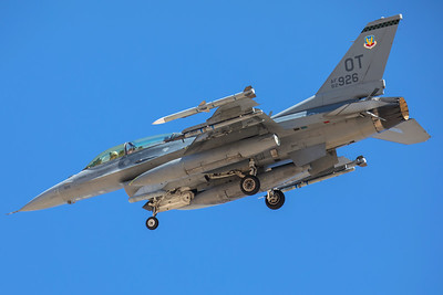 United States Air Force Lockheed F-16D 92-3926 7-28-17