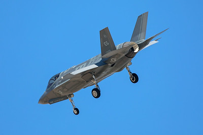 United States Air Force Lockheed Martin F-35A 11-5026 7-28-17 2