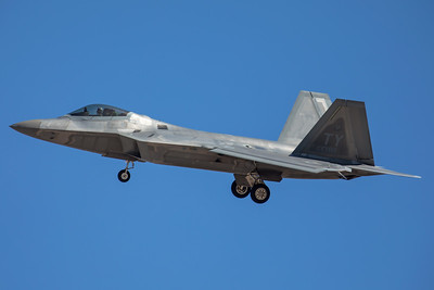 United States Air Force Lockheed Martin F-22A 05-4081 7-28-17