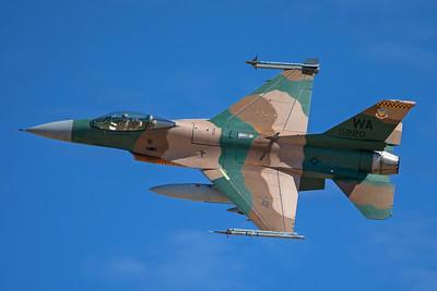 United States Air Force General Dynamics F-16C 86-0220 8-24-17