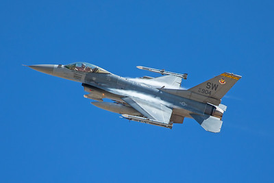 United States Air Force Lockheed F-16CM 92-3904 8-24-17