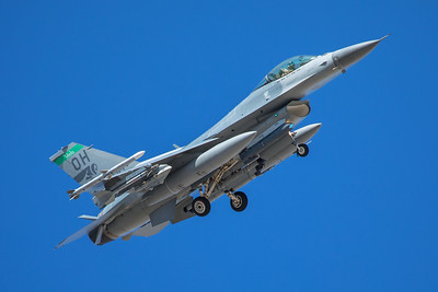 United States Air Force General Dynamics F-16C 89-2114 8-24-17