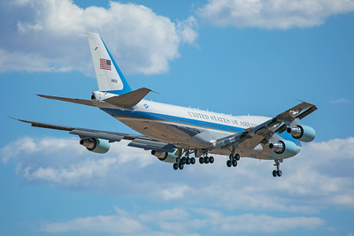 United States Air Force Boeing VC-25A 92-8000 8-22-17 2