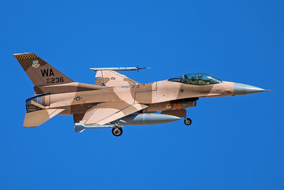 United States Air Force General Dynamics F-16C 84-1236 8-24-17