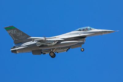 United States Air Force General Dynamics F-16C 88-0527 8-24-17