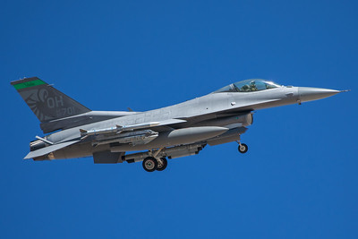 United States Air Force General Dynamics F-16C 90-0701 8-24-17