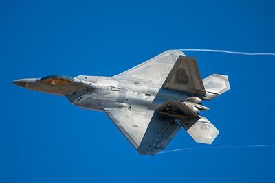 United States Air Force Lockheed Martin F-22A 09-4186 8-24-17