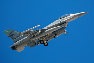 United States Air Force General Dynamics F-16C 89-2051 8-24-17