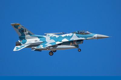 United States Air Force General Dynamics F-16C 84-1301 8-24-17