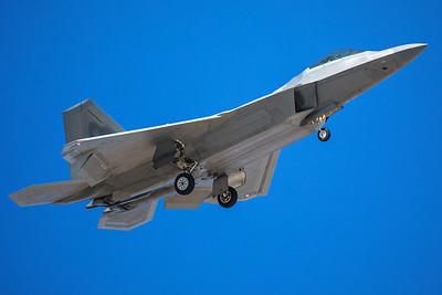 United States Air Force Lockheed Martin F-22A 08-4164 8-24-17 2
