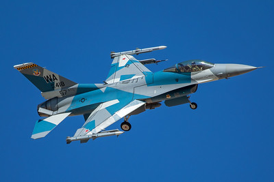 United States Air Force General Dynamics F-16C 85-1418 8-24-17