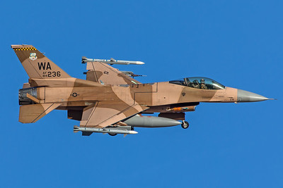 United States Air Force General Dynamics F-16C 84-0236 2-8-18