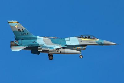 United States Air Force General Dynamics F-16C 84-0244 2-8-18 2