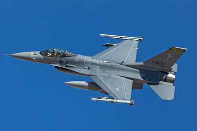 United States Air Force General Dynamics F-16C 86-0365 2-8-18