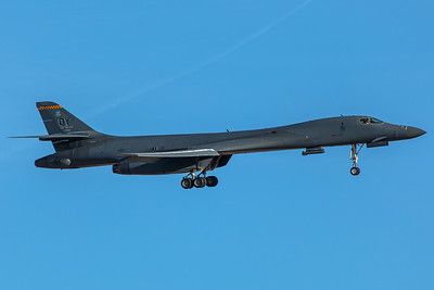 United States Air Force Rockwell B-1B 85-0089 2-8-18