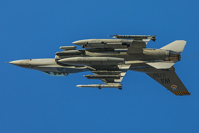 United States Air Force General Dynamics F-16C 90-0750 2-8-18