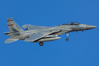 United States Air Force McDonnell Douglas F-15C 85-0106 2-8-18 3
