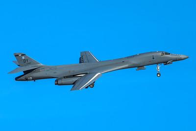 United States Air Force Rockwell B-1B 86-0097 2-8-18
