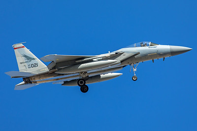 United States Air Force McDonnell Douglas F-15C 84-0021 2-8-18