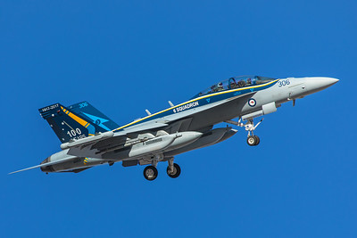 Royal Australian Air Force Boeing EA-18G A46-306 2-8-18