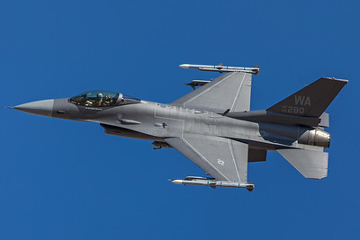 United States Air Force General Dynamics F-16C 86-0280 2-8-18