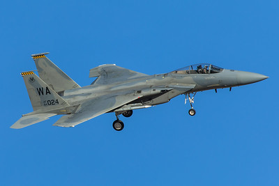 United States Air Force McDonnell Douglas F-15C 84-0024 2-8-18