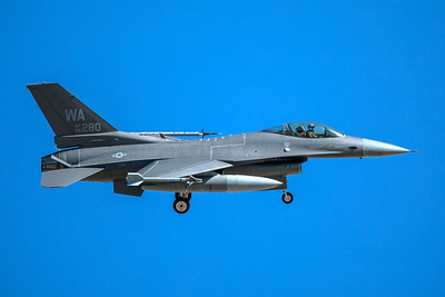 United States Air Force General Dynamics F-16C 86-0280 3-12-18