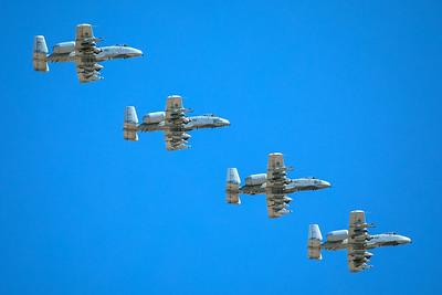 United States Air Force Fairchild A-10A 78-0654 3-12-18