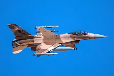 United States Air Force General Dynamics F-16C 86-0291 3-12-18
