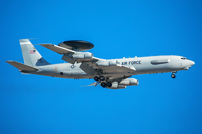 United States Air Force Boeing E-3C 80-0137 3-12-18 2