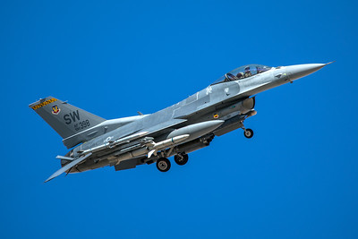 United States Air Force Lockheed Martin F-16CJ 91-0398 3-12-18