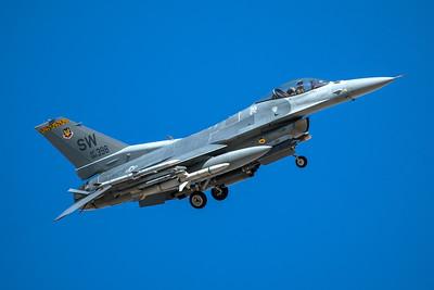 United States Air Force Lockheed Martin F-16CJ 91-0398 3-12-18