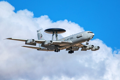 United States Air Force Boeing E-3C 80-0137 3-12-18