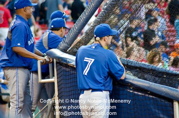 Pre-Game Toronto Blue Jays at Boston Red Sox Fenway Park Boston MA July 21, 2012 Copyright ©2012 Nancy Nutile-McMenemy www.photosbynanci.com More images: http://www.photosbynanci.com/redsox.html