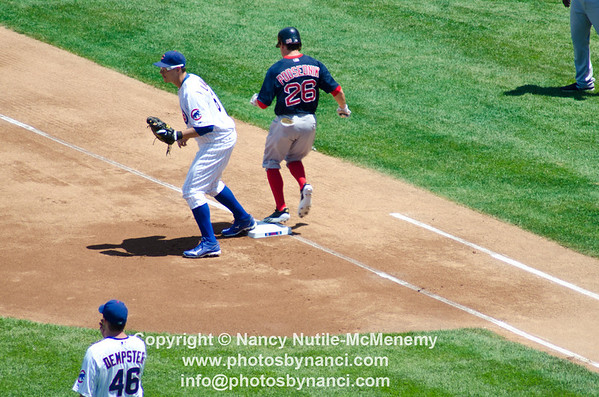 Boston Red Sox v Chicago Cubs Game, Sox Lose Chicago IL June 15, 2012 Copyright ©2012 Nancy Nutile-McMenemy www.photosbynanci.com More images: http://www.photosbynanci.com/redsox.html