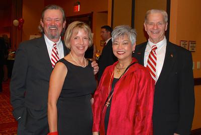 Ted & Kathy Wade, Caroline & Norm DeBriyn1