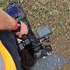 Beskidt arbejde at filme motocross.