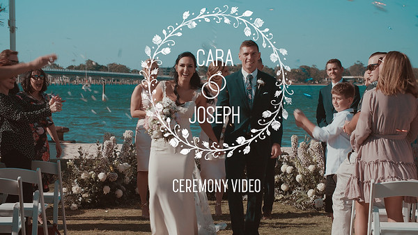 C+J Wedding Ceremony Video at Sandstone Point Hotel 1080P