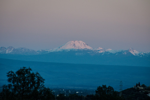 Mount Lassen sunset | A weekend getaway to Redding California
