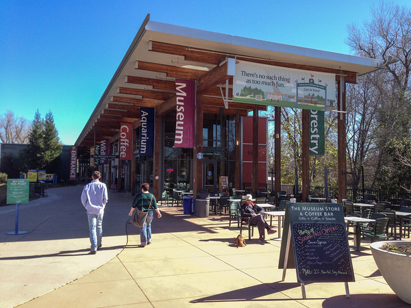 Turtle Bay Exploration Park, a natural history, forestry, and wildlife museum in Redding, California