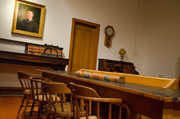 The Old Courthouse at Shasta State Historic Park