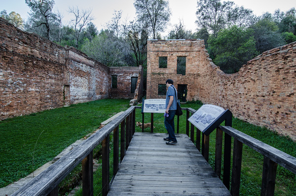 Ruins of a Gold Rush Ghost Town, Shasta State Historic Park