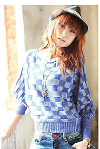 Checker Blue
