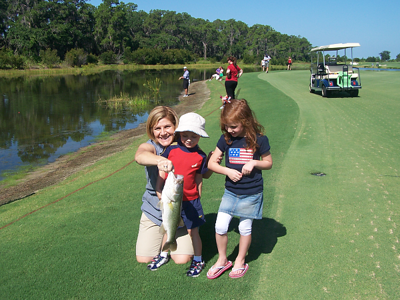 Concession Golf-Club Kids Fishing Tournament