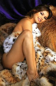Alina Kabaeva Likes Fur