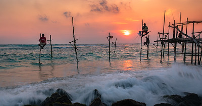 STILT FISHERMAN