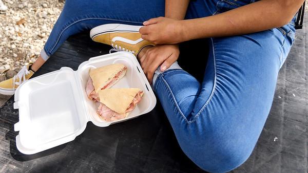 Ham and Tomato Sandwich