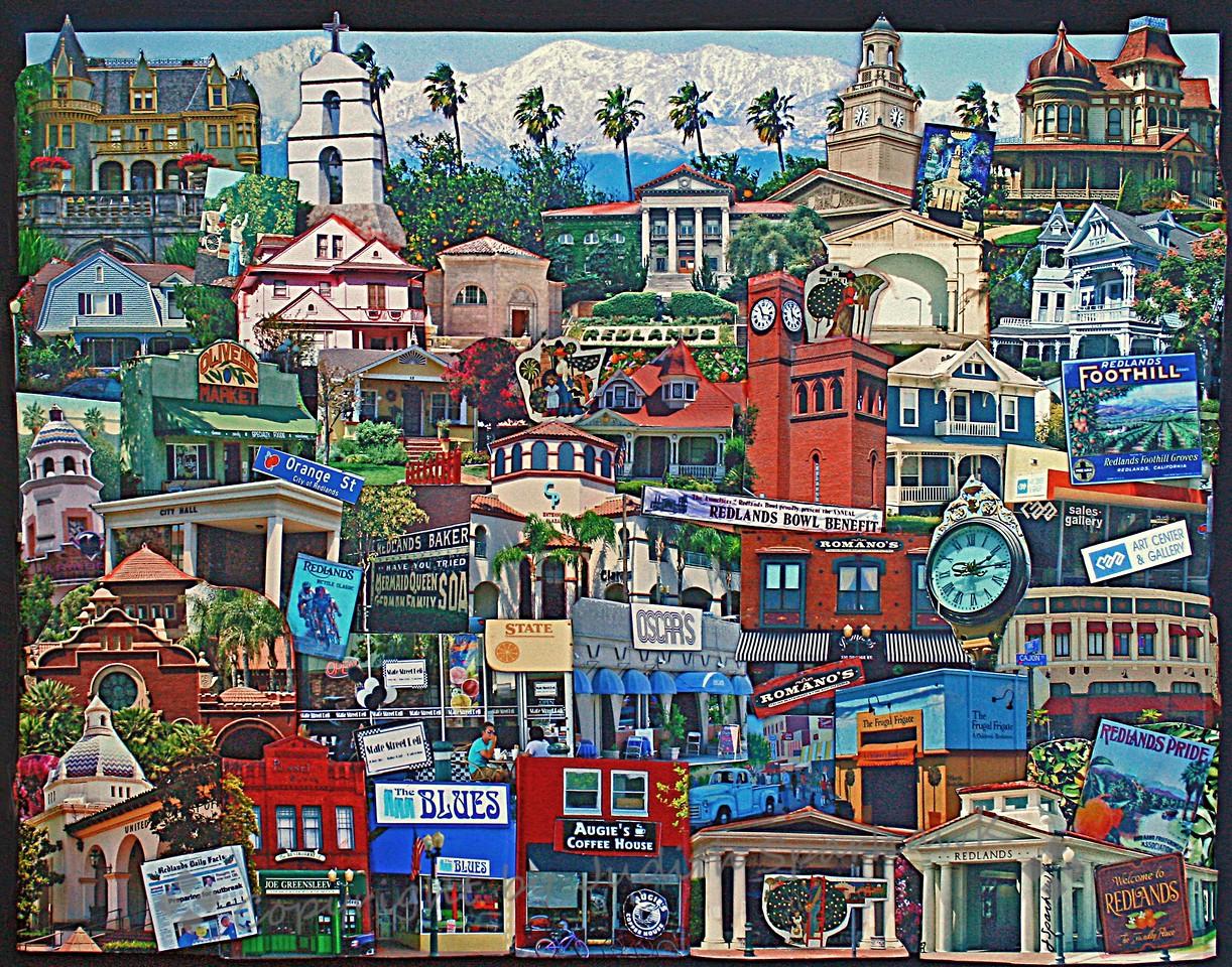 Redlands, California Collage