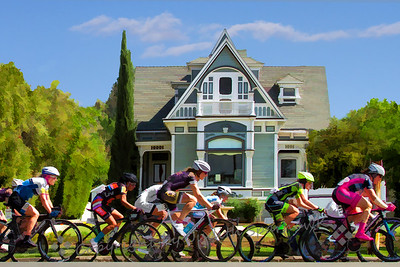 Bicycle Classic through Redlands